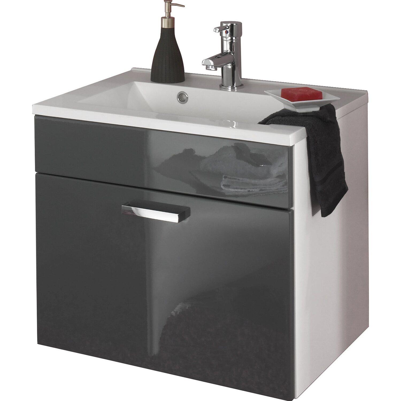 posseik waschplatz 60 cm marano wei grau kaufen bei obi. Black Bedroom Furniture Sets. Home Design Ideas