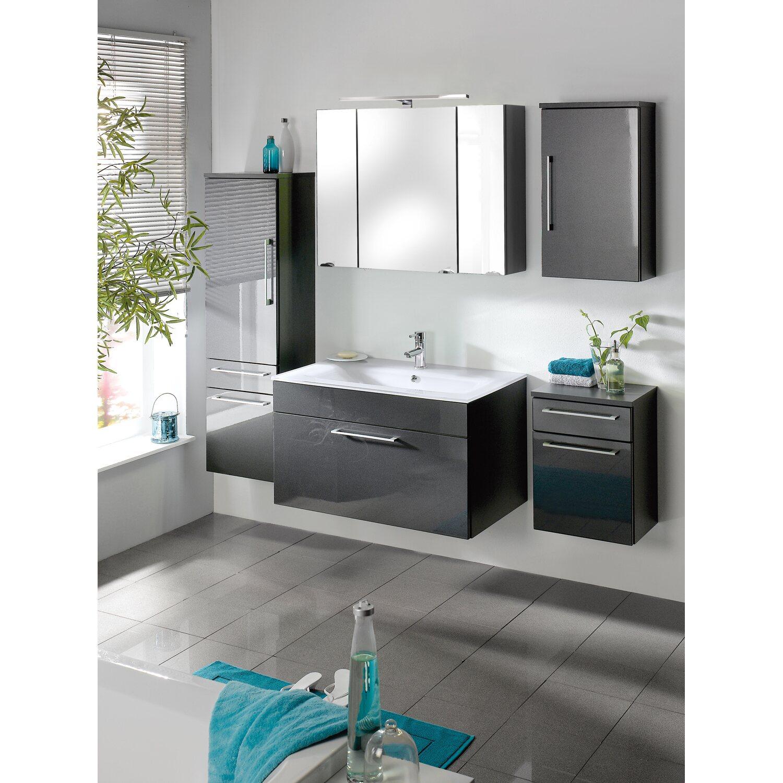 posseik hochschrank 40 cm heron anthrazit kaufen bei obi. Black Bedroom Furniture Sets. Home Design Ideas