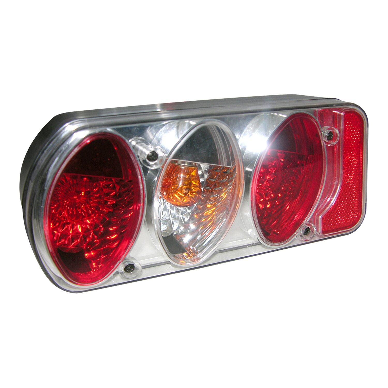 Eufab  Anhänger-Rücklicht-Set links Klarglas