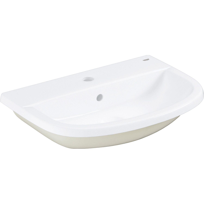 grohe einbau waschbecken bau keramik wei 55 cm kaufen bei obi. Black Bedroom Furniture Sets. Home Design Ideas