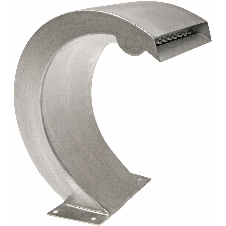 Ubbink design wasserfall mamba s led inox 316 l 9 leds for Wasserfall mamba