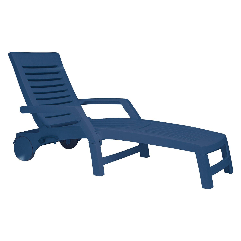 Roll-Sonnenliege Florida Blau kaufen bei OBI