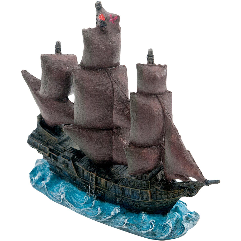 Pennplax Dekofigur Aquarium Black Pearl Schiff aus Fluch der Karibik ...