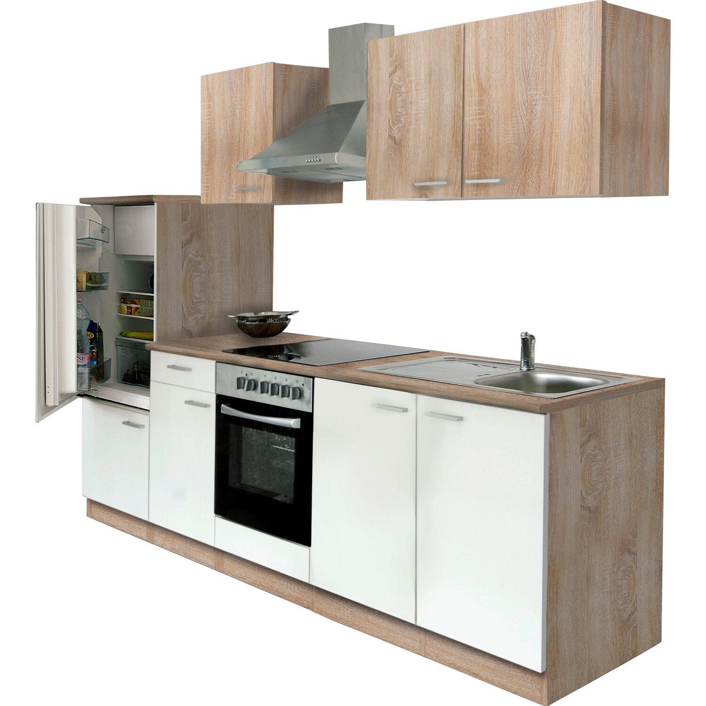 Küche 270 Cm: Küchenzeile Lagos