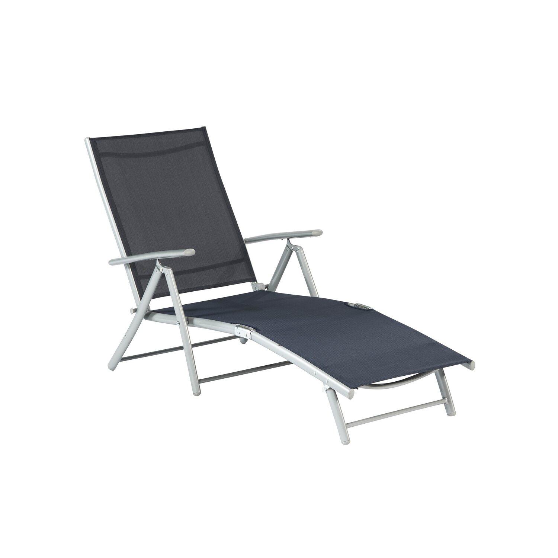 relax liegestuhl marineblau kaufen bei obi. Black Bedroom Furniture Sets. Home Design Ideas