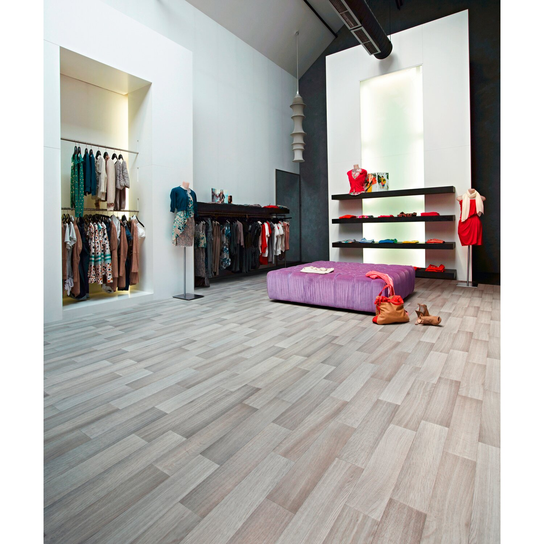 Ordentlich PVC Bodenbelag Nova Botticelli 593 Grau 400 cm breit kaufen bei OBI VY82