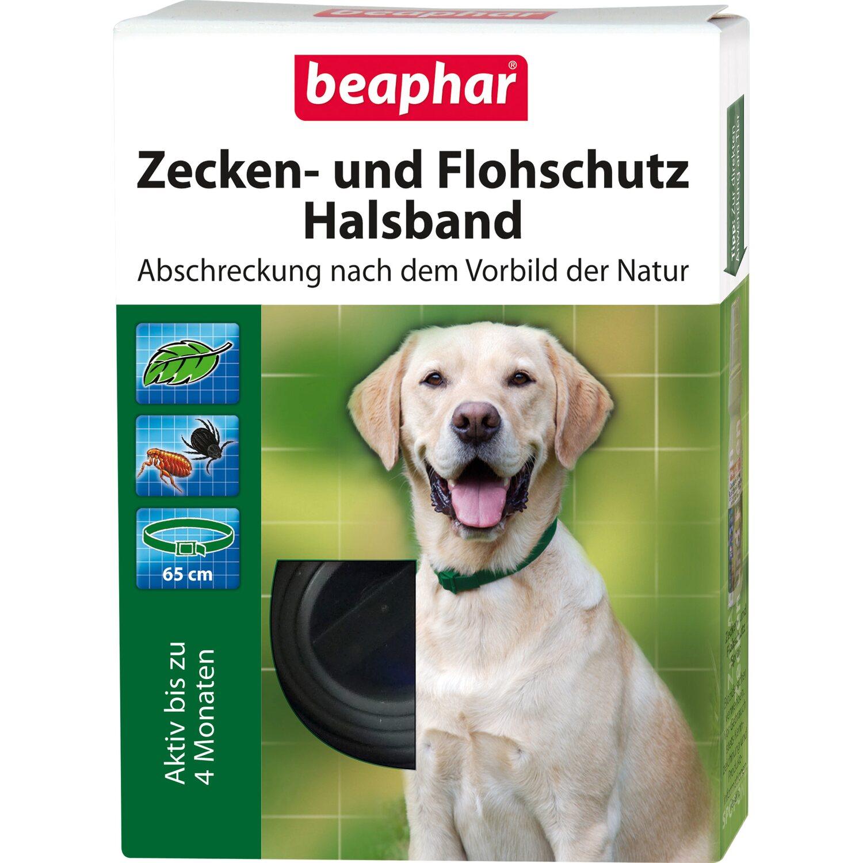 Beaphar Zecken- und Flohschutz Halsband für Hun...