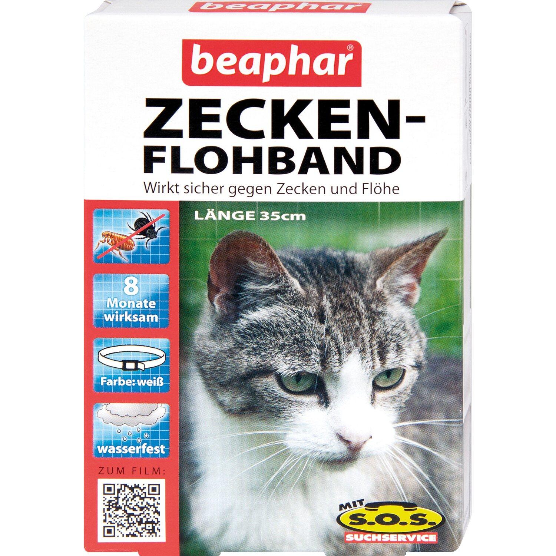 Beaphar Zecken- und Flohband Katzen 35 cm