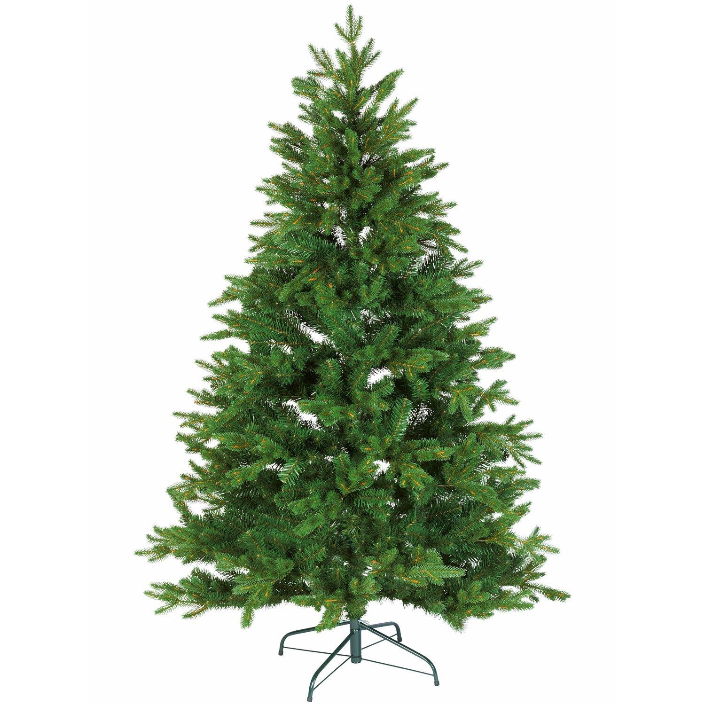 Kunstlicher weihnachtsbaum mit echten kerzen