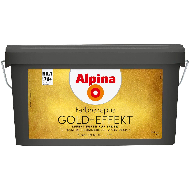 Alpina Farbrezepte Gold Effekt Gold Kaufen Bei Obi