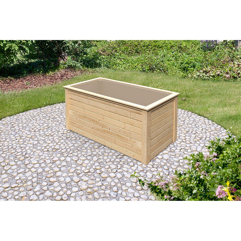 system hochbeet a 28 mm natur kaufen bei obi. Black Bedroom Furniture Sets. Home Design Ideas