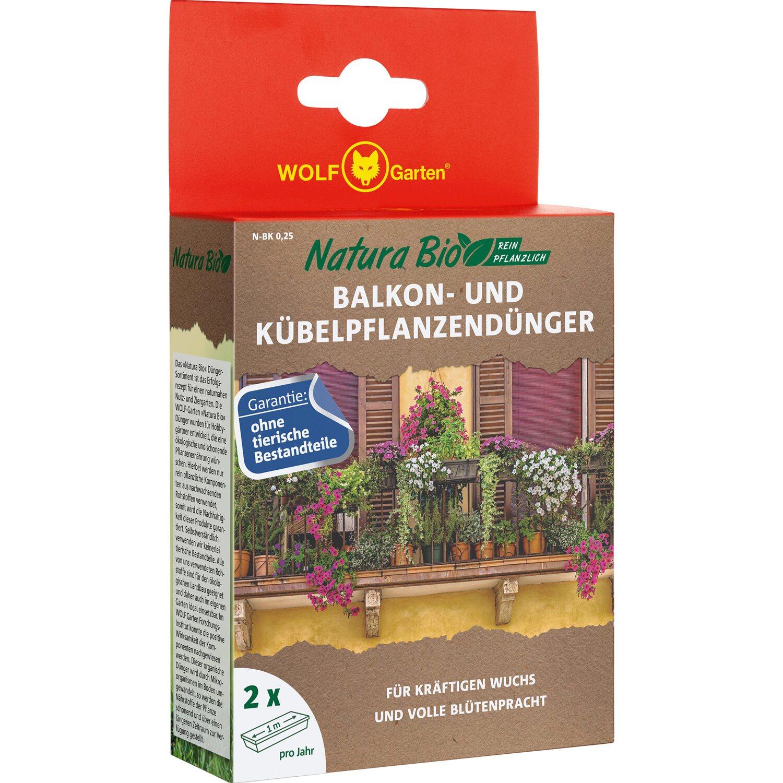 Wolf Balkon Und Kübelpflanzendünger Natura Bio 250 G Kaufen
