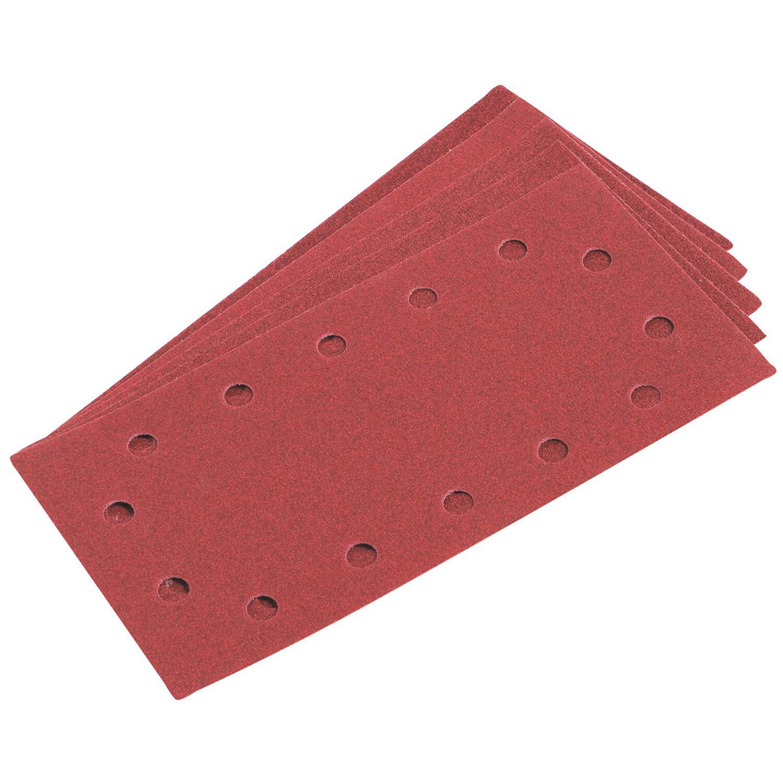LUX-Tools Schleifstreifen-Set 115 mm x 230 mm 20-teilig