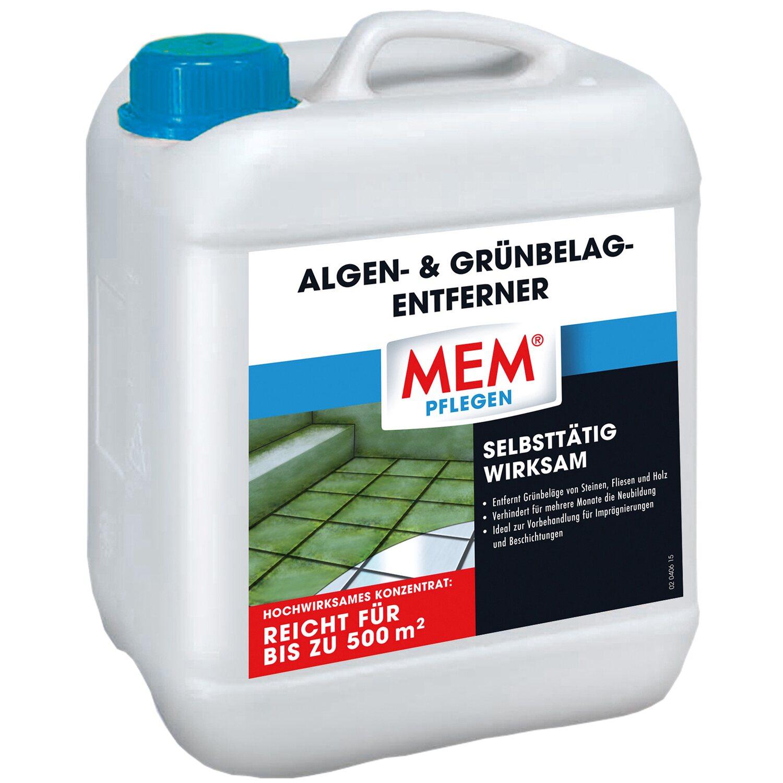 MEM Algen- und Grünbelagentferner 5 l