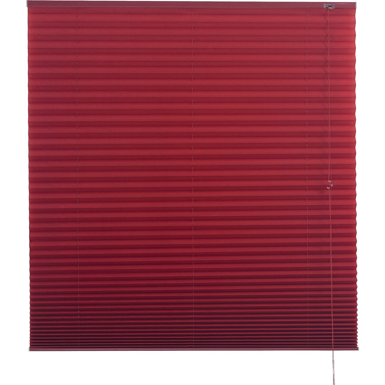 Schön Plissee 140 Cm Breit Foto Von Obi Lorca 120 X 160 Rot