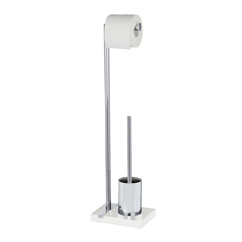 Wenko Stand WC-Garnitur Noble Weiß
