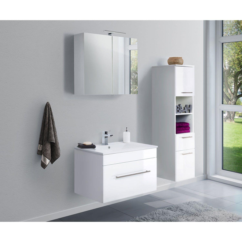 Waschbecken 3 Teilig Hangeschrank Verona Waschtisch Unterschrank