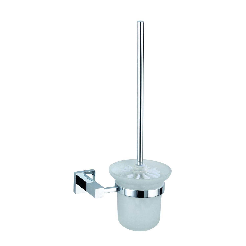 Wenko Power-Loc WC-Garnitur San Remo Chrom