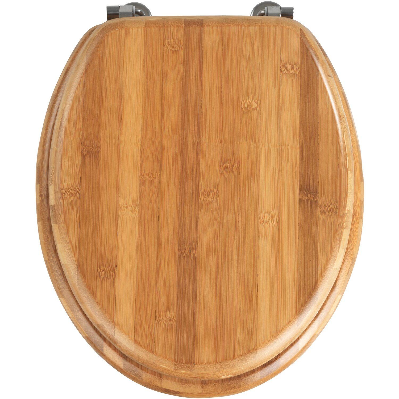 Wenko WC-Sitz Bambus Braun
