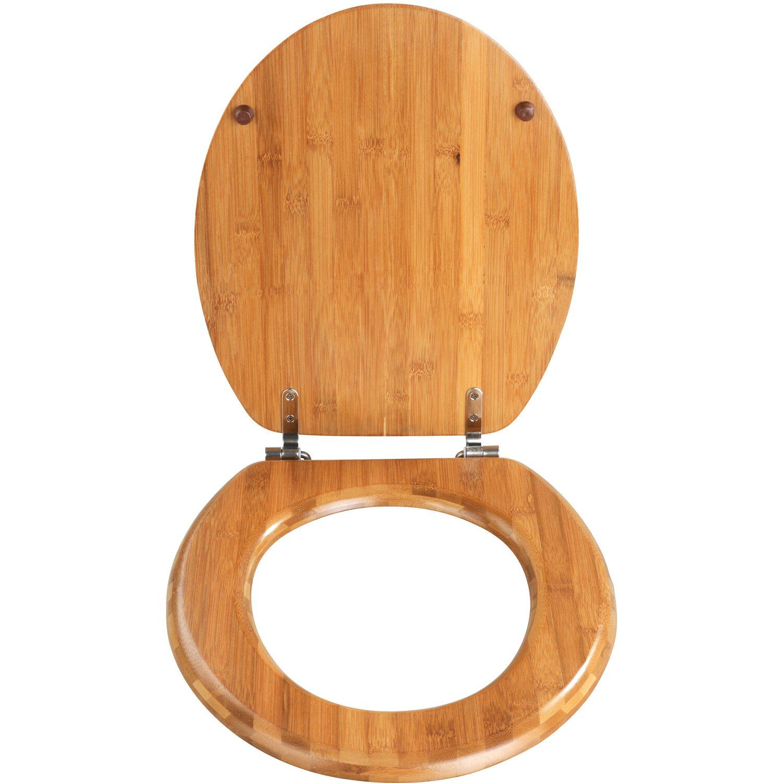 wenko wc sitz bambus braun kaufen bei obi. Black Bedroom Furniture Sets. Home Design Ideas