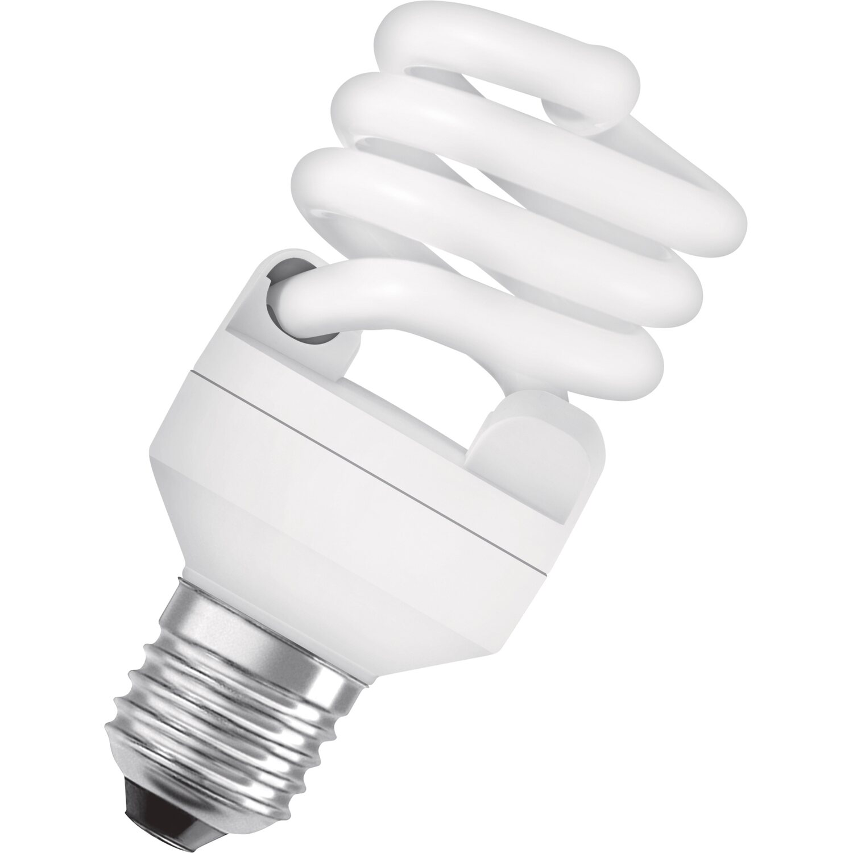 Osram Energiesparlampe Spiralform E27 / 20 W (1.300 lm) Kaltweiß EEK: A | Lampen > Leuchtmittel > Energiesparlampen | Osram
