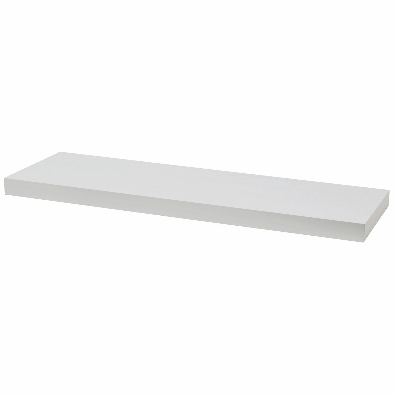 wandboard wei 80 cm x 25 cm x 3 8 cm kaufen bei obi. Black Bedroom Furniture Sets. Home Design Ideas