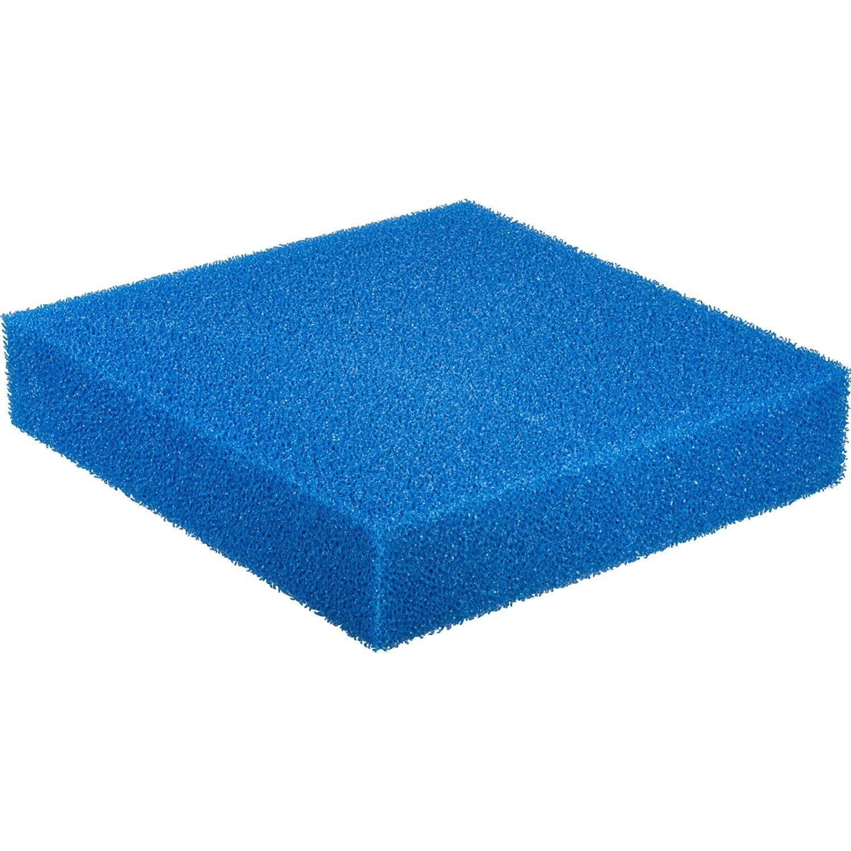 Filterschaum Matte für Aquarienfilter Blau 50 x...