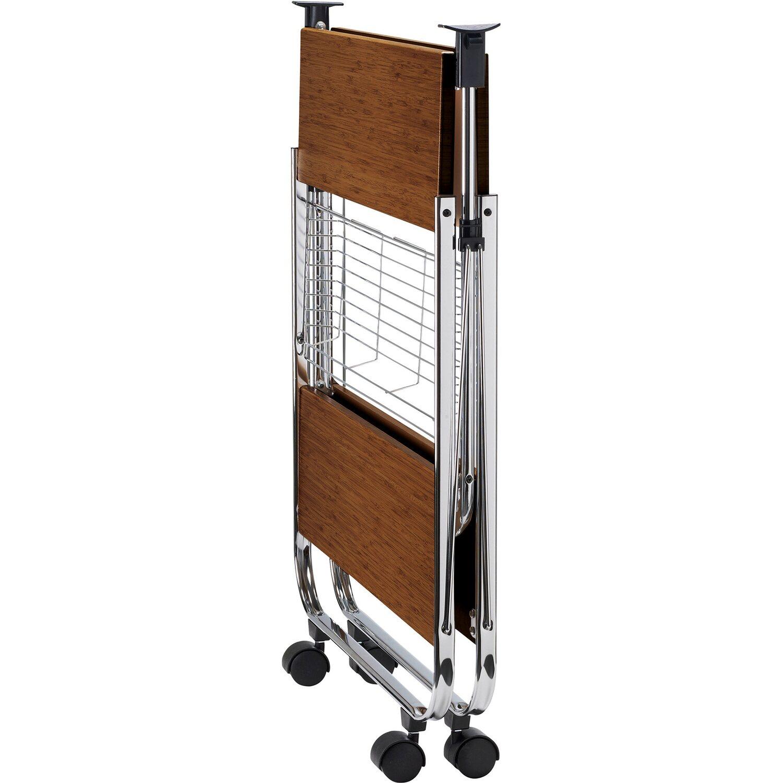 wenko servierwagen dinett deluxe nussbaum nachbildung kaufen bei obi. Black Bedroom Furniture Sets. Home Design Ideas