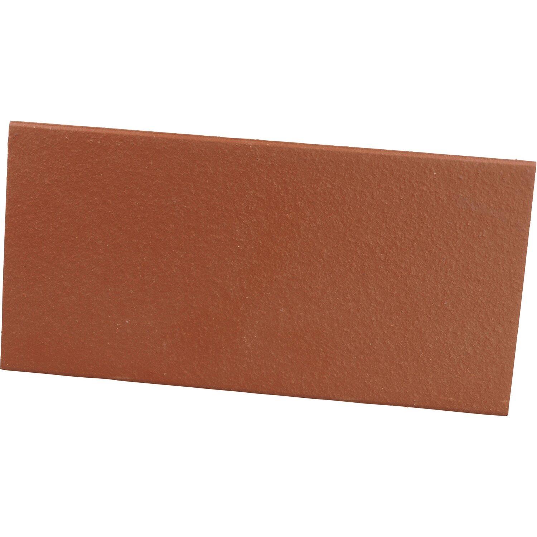 Top Spaltplatte Rot Natur 11,5 cm x 24 cm x 0,8 cm kaufen bei OBI GL31