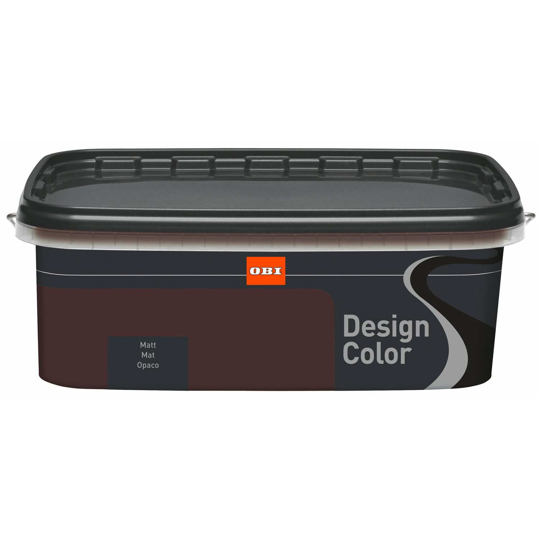 OBI Design Color Chocolate Matt 1 L