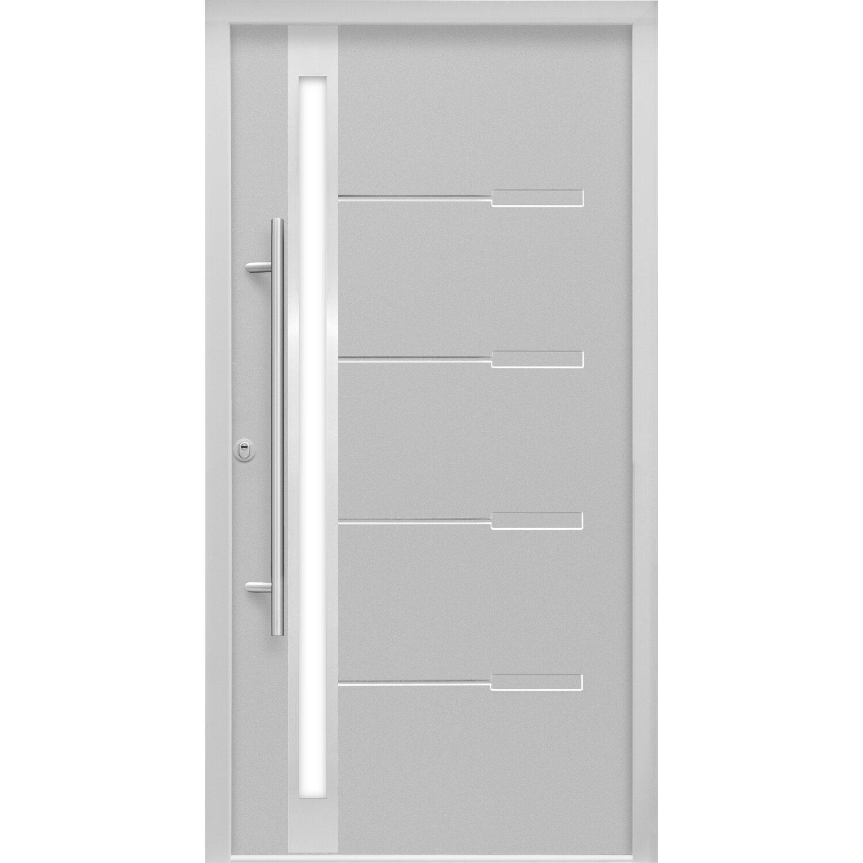 Sicherheits-Haustür ThermoSpace Neapel RC2 Komfort 110 x 210 cm Grau Links | Baumarkt > Modernisieren und Baün > Türen | Splendoor Thermospace