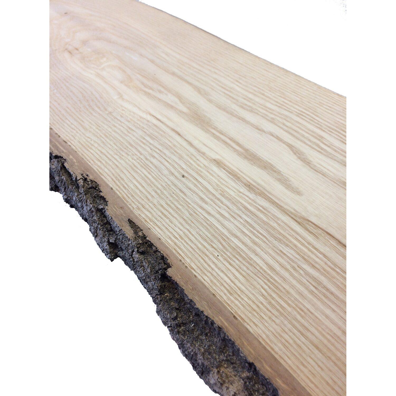 Schnittholz Mit Baumkante Xl Esche 280 Cm X 15 Cm X 2 2 Cm Kaufen