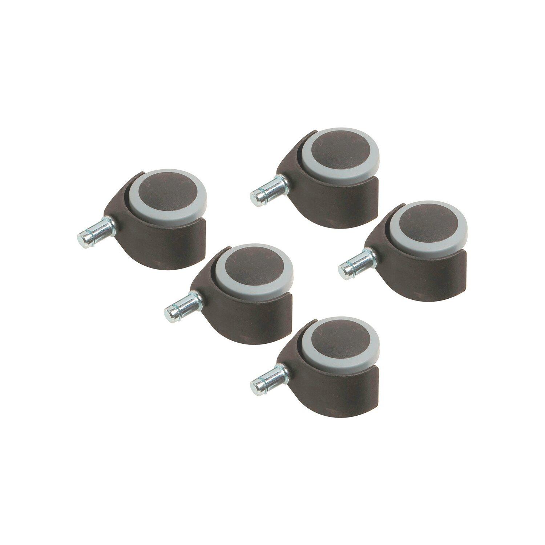 parkett doppelrolle mit stift 50 mm 40 kg 5 st ck kaufen bei obi. Black Bedroom Furniture Sets. Home Design Ideas