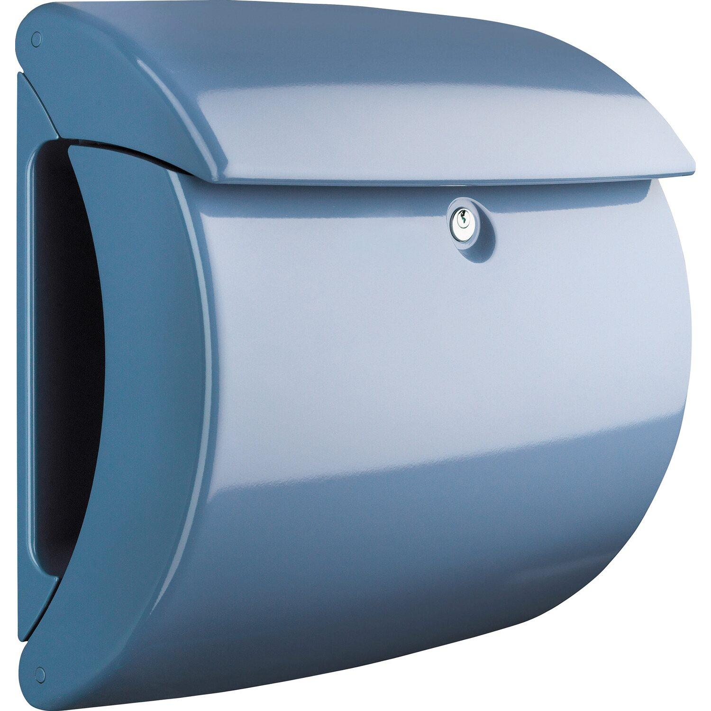 burg w chter kunststoff briefkasten piano 886 light blue kaufen bei obi. Black Bedroom Furniture Sets. Home Design Ideas