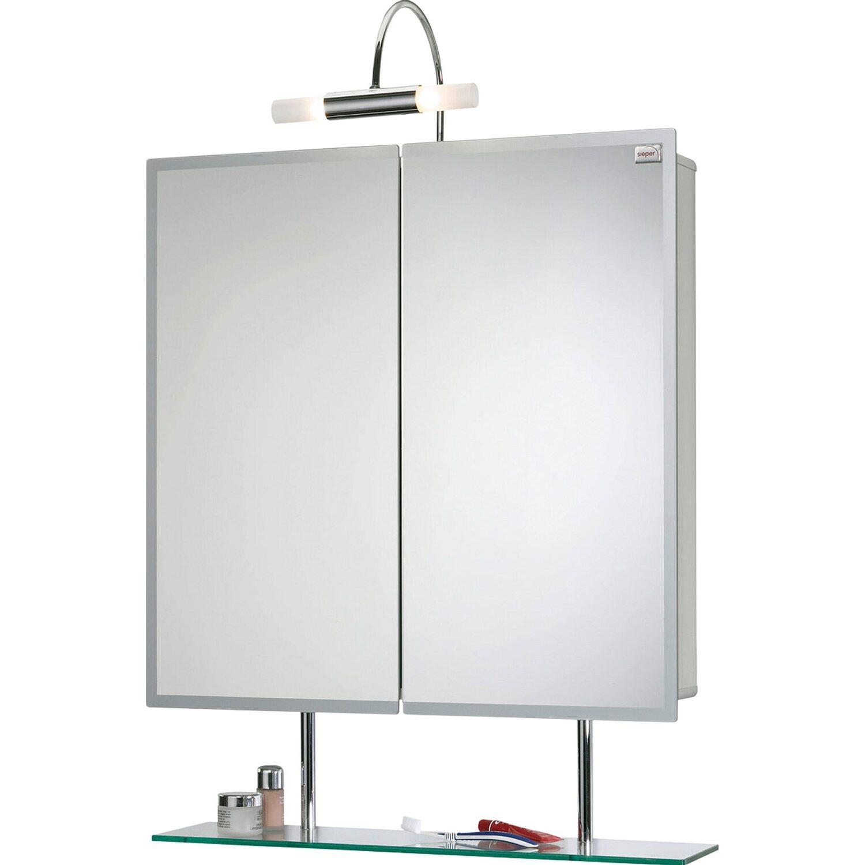 Sieper spiegelschrank aluline 65 cm alu eek d kaufen bei obi - Spiegelschrank obi ...