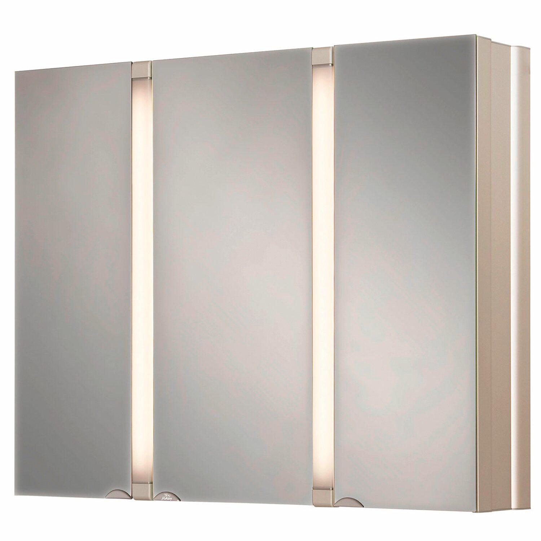 Jokey spiegelschrank eek a sun 80 cm alu kaufen bei obi for Spiegelschrank obi