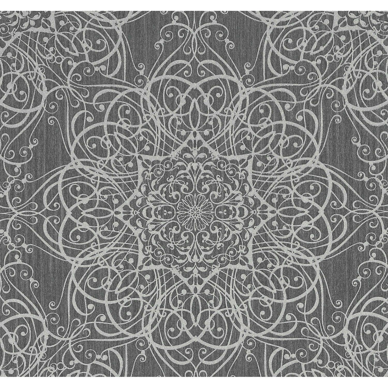 super popular c481c 737c0 Guido Maria Kretschmer Vliestapete Ornament Grau