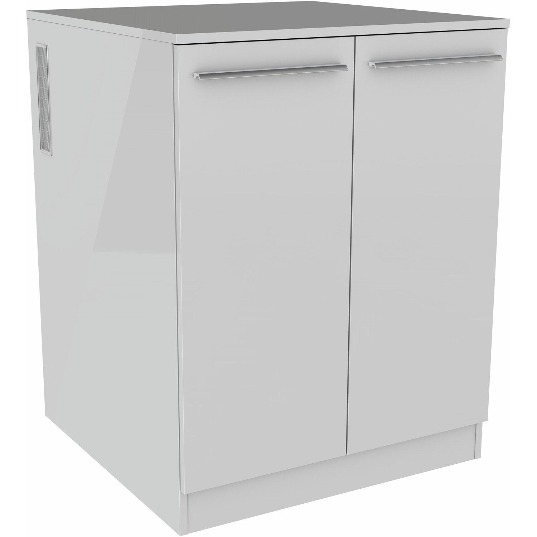 Fackelmann Waschmaschinen Unterbauschrank 70 5 Cm Weiss Kaufen Bei Obi