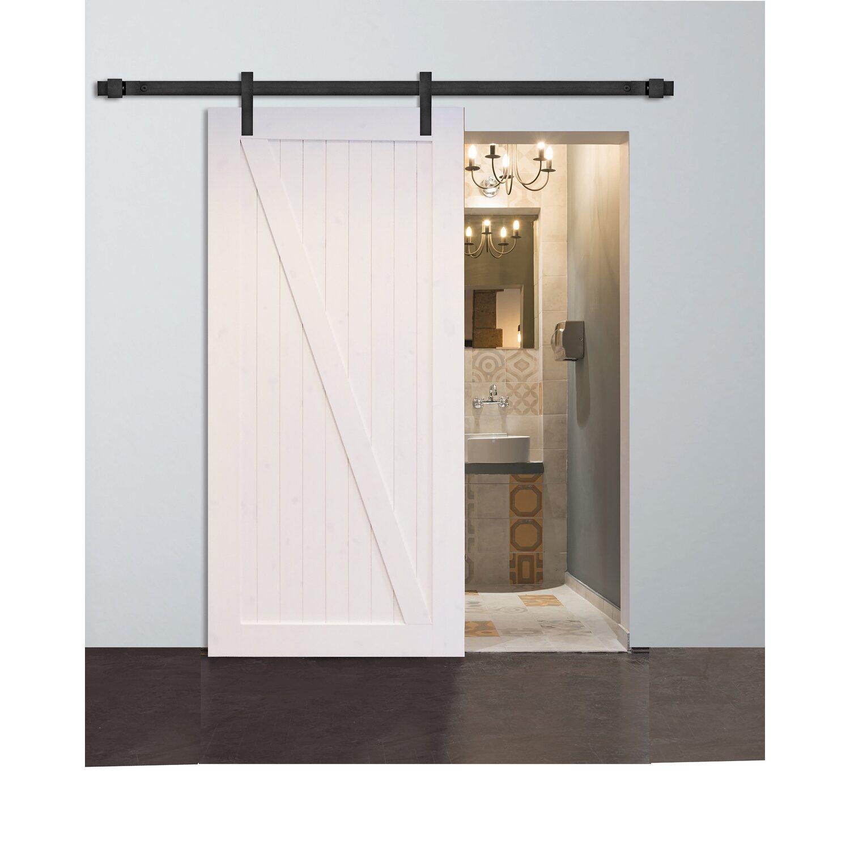 Sehr Holztürblatt Kiefer Weiß System Cuddy 94,4 cm x 203,5 cm kaufen YM77