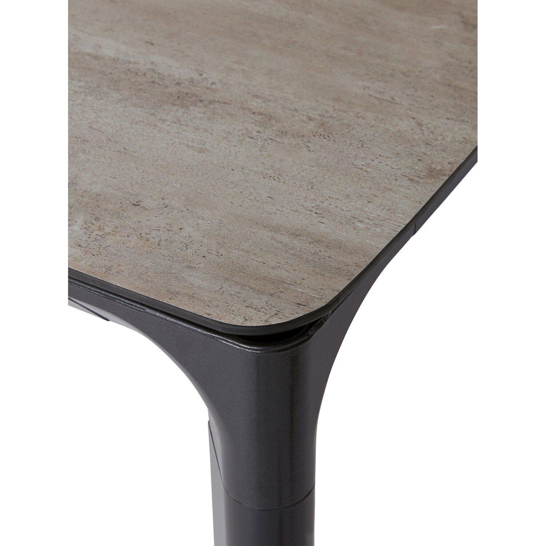 Gartentisch Ellenton Rechteckig 160 Cm X 90 Cm Hellgrau Kaufen Bei Obi