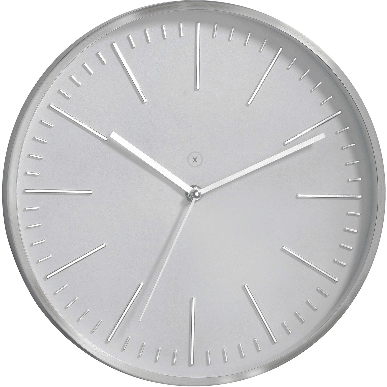 Sompex Clocks Wanduhr Dakota Hellgrau