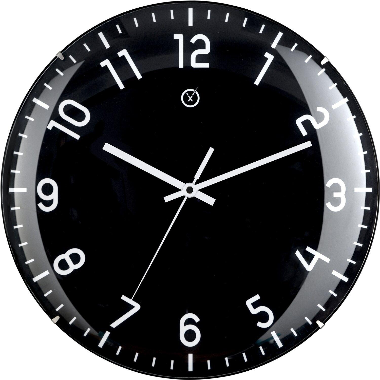 Sompex Clocks Wanduhr Quito Dome Schwarz kaufen bei OBI