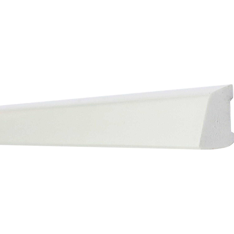 abdeckleiste 16 mm x 10 mm wei l nge 2500 mm kaufen bei obi. Black Bedroom Furniture Sets. Home Design Ideas
