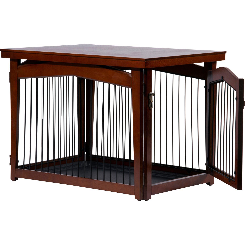 Hundebox Indoor Mit Tischoberflache Holz 82 5 X 57 X 59 Cm