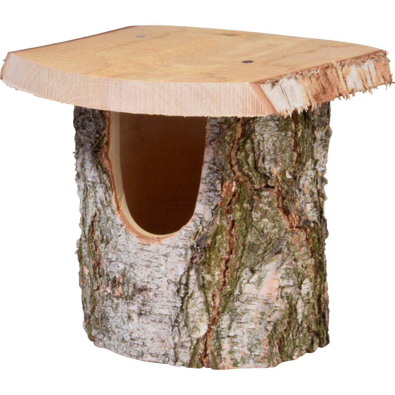 birkenholz nistkasten naturbelassen 14 x 22 x 24 cm kaufen bei obi. Black Bedroom Furniture Sets. Home Design Ideas