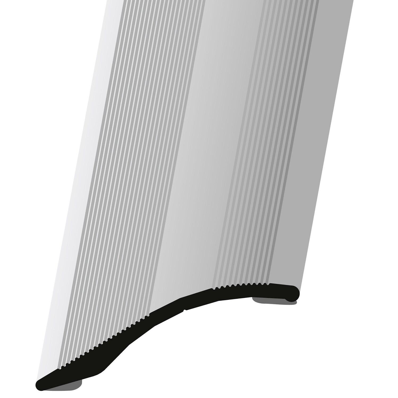 Abschlussprofil selbstklebend 8 mm x 8 mm x 8 mm Weiss  pulverbeschichtet
