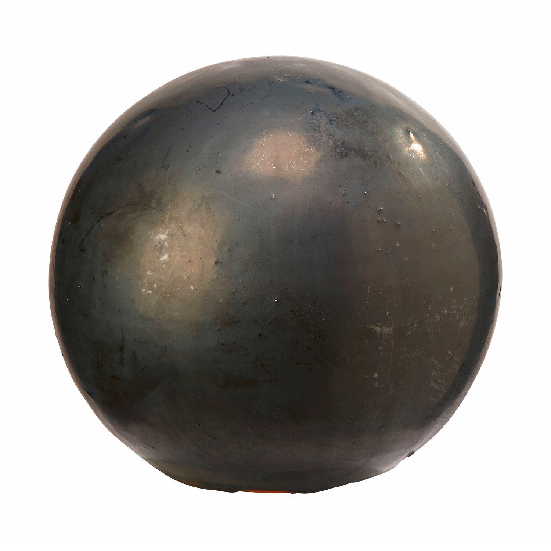 deko kugel rund 15 cm anthrazit kaufen bei obi. Black Bedroom Furniture Sets. Home Design Ideas