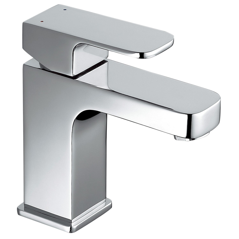 OBI Einhebelmischer-Waschbeckenarmatur Carrara verchromt   Bad > Armaturen > Waschtischarmaturen   Silberfarben   OBI Deco-Line
