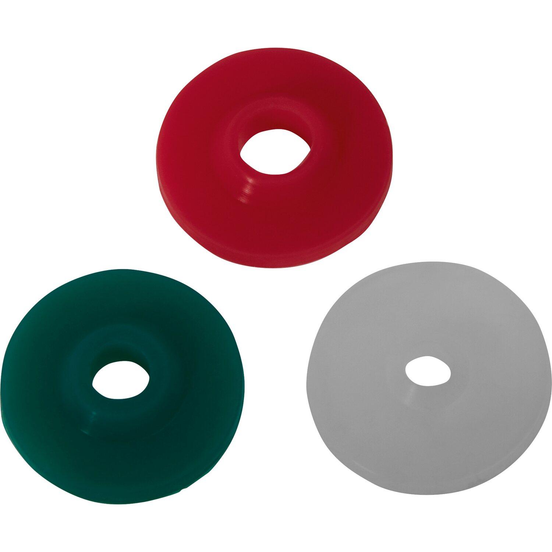 Durchfluss-Begrenzerscheibenset für Brauseschlauch 3-teilig | Bad > Armaturen > Brauseschläuche | Kunststoff | Sonstige