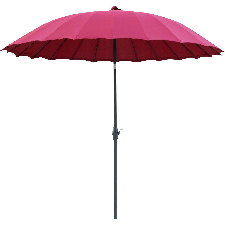 Sonnenschirm Fernöstlicher Stil Burgund Ø 270 cm kaufen